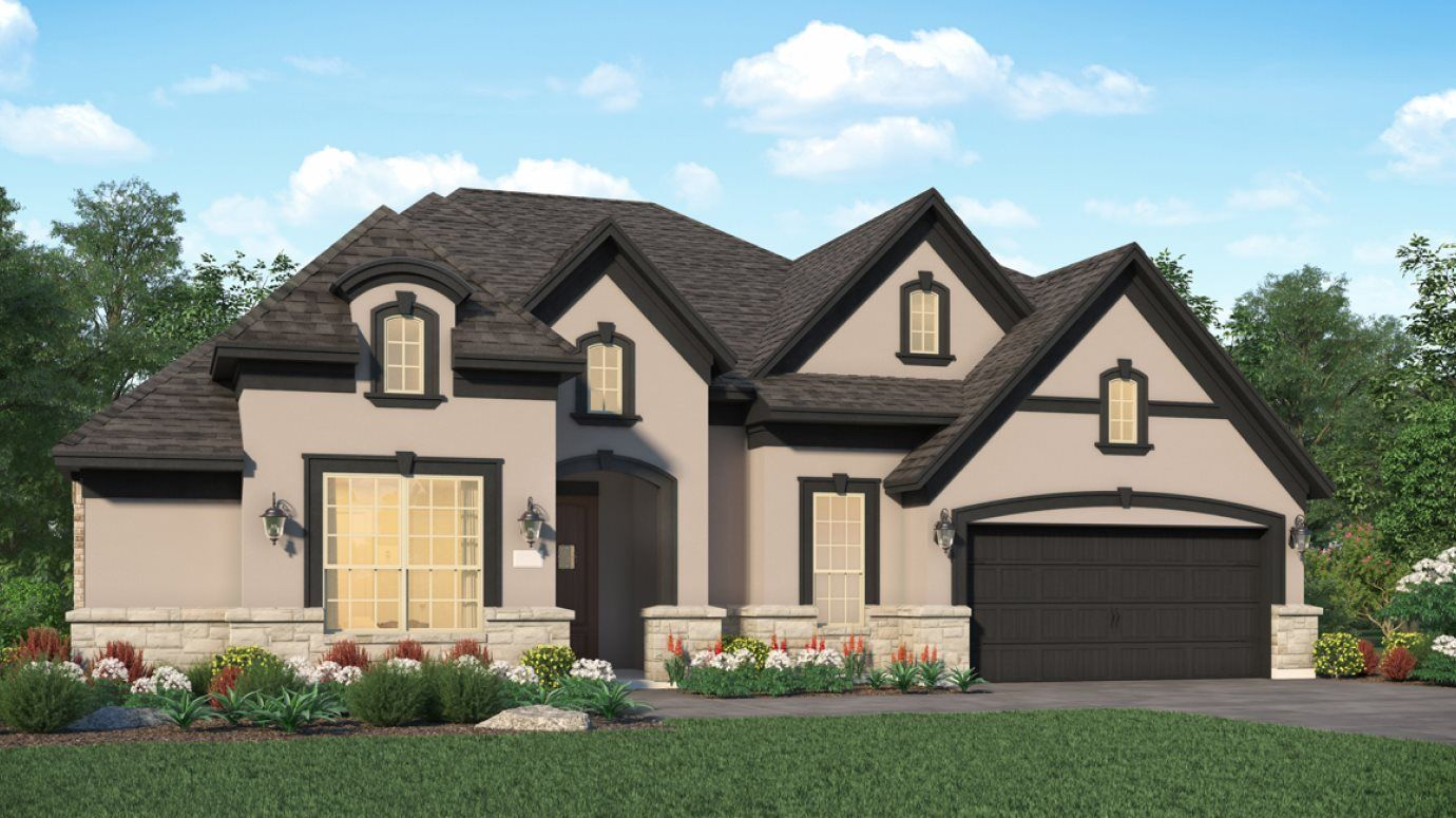 Exterior featured in the Rocklin By Village Builders in Houston, TX