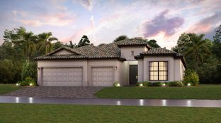 The Summerville II - Verdana Village - Manor Homes: Estero, Florida - Lennar
