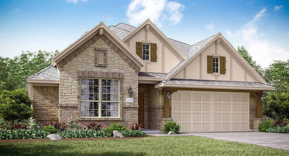 Exterior featured in the Giallo III By Lennar in Houston, TX