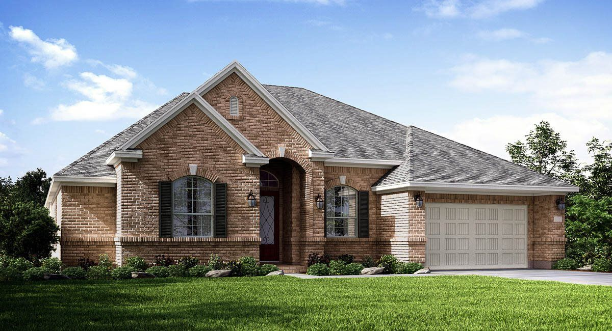 Exterior featured in the Coral By Lennar in Houston, TX