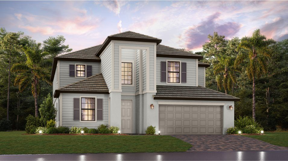 Exterior featured in the Monte Carlo By Lennar in Fort Myers, FL