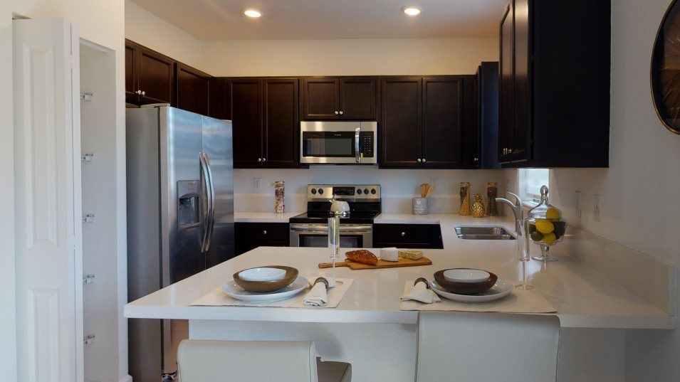 Kitchen featured in the Galicia By Lennar in Miami-Dade County, FL