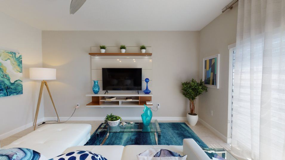 Living Area featured in the Merida By Lennar in Miami-Dade County, FL