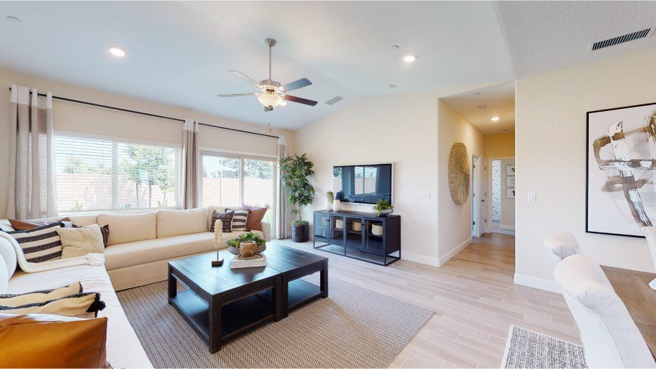 Living Area featured in the Duke By Lennar in Visalia, CA