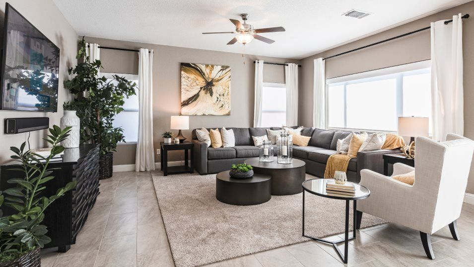 Living Area featured in the Countess By Lennar in Visalia, CA