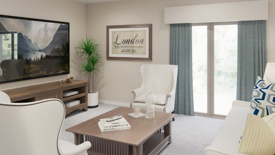Living Area featured in the Concord By Lennar in Tampa-St. Petersburg, FL