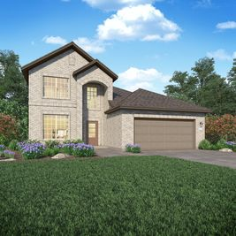Larkspur II - Delany Cove - Wildflower I & II Collections: La Marque, Texas - Lennar