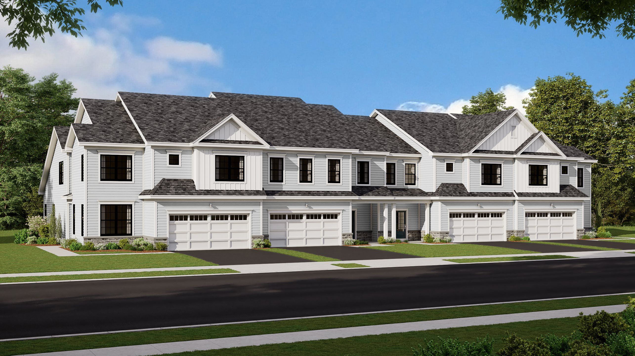 Exterior featured in the Birch By Lennar in Morris County, NJ