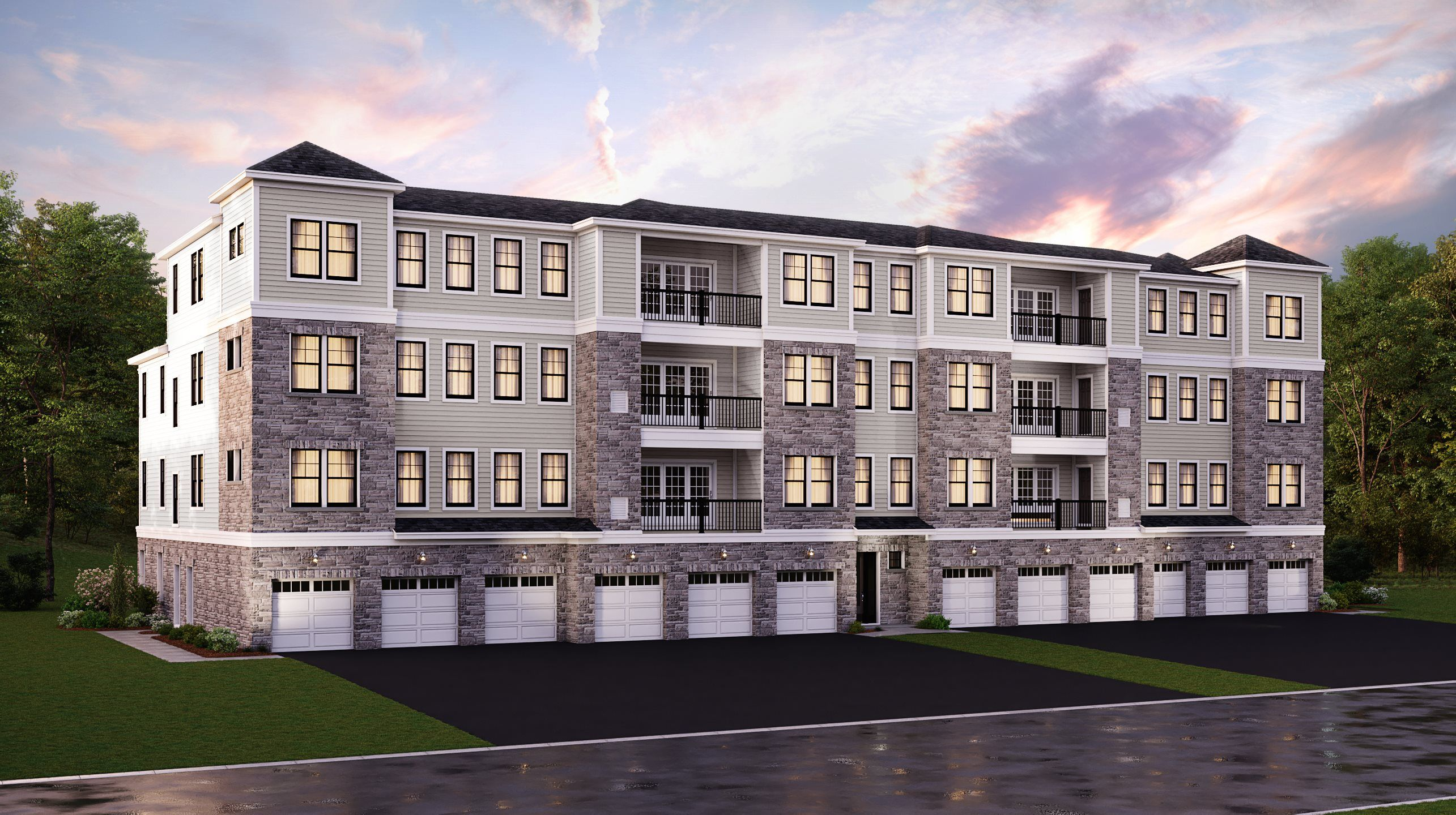 Exterior featured in the Hickory By Lennar in Morris County, NJ