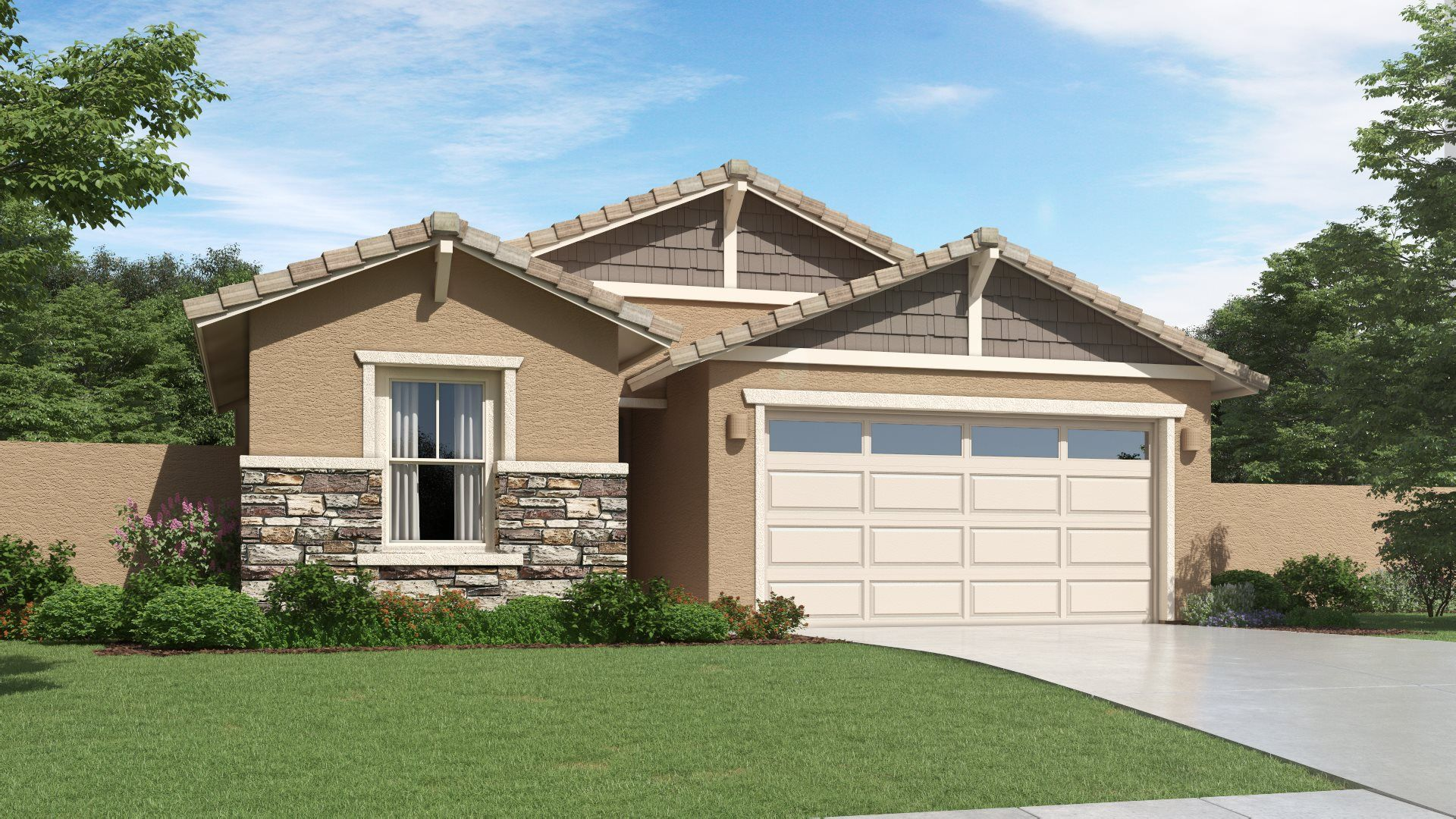 Exterior featured in the Lewis Plan 3575 By Lennar in Phoenix-Mesa, AZ