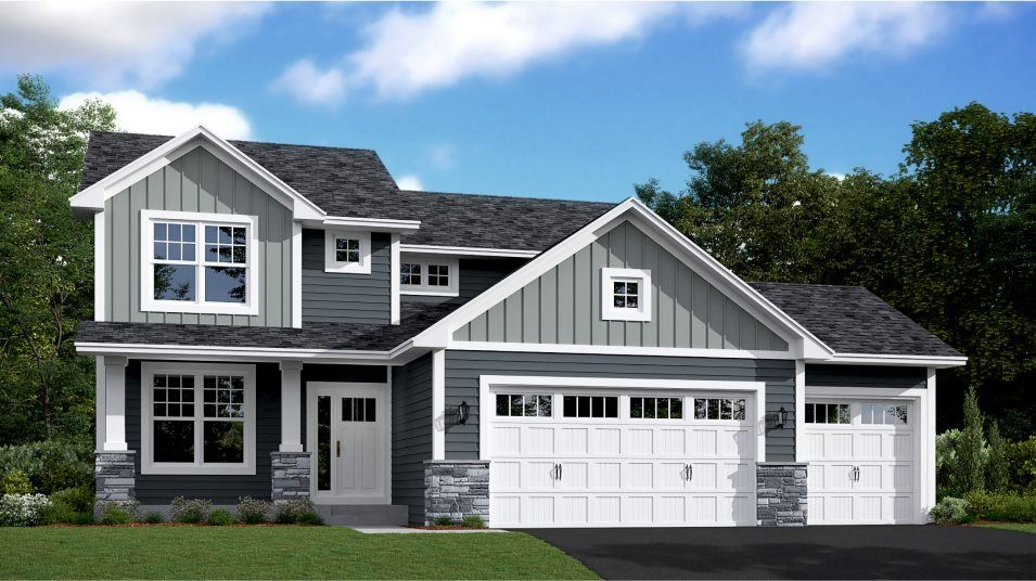 Exterior featured in the Vanderbilt By Lennar in Minneapolis-St. Paul, MN