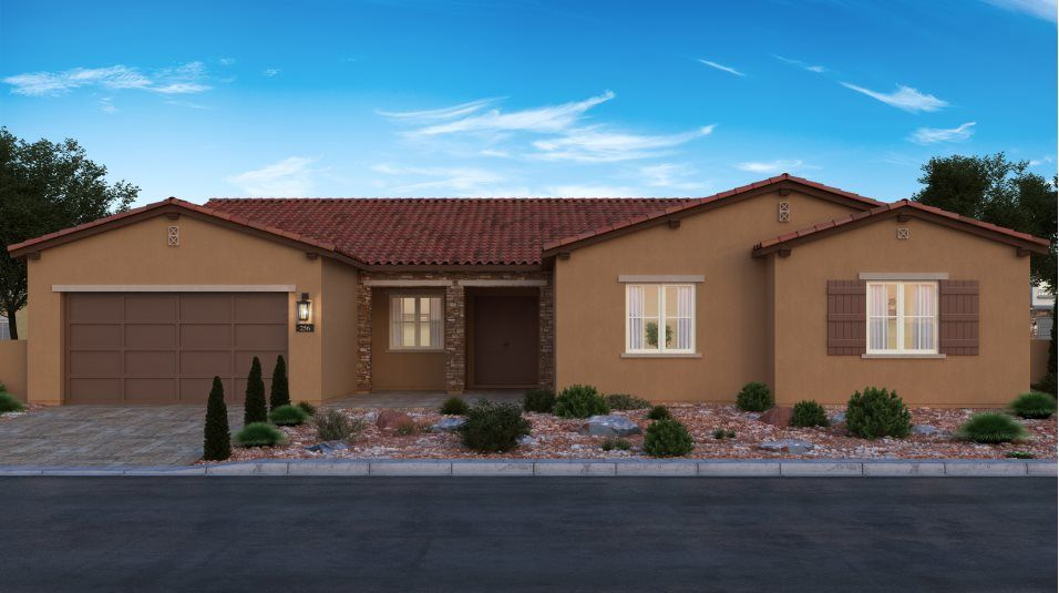 Exterior featured in the Leighton By Lennar in Las Vegas, NV