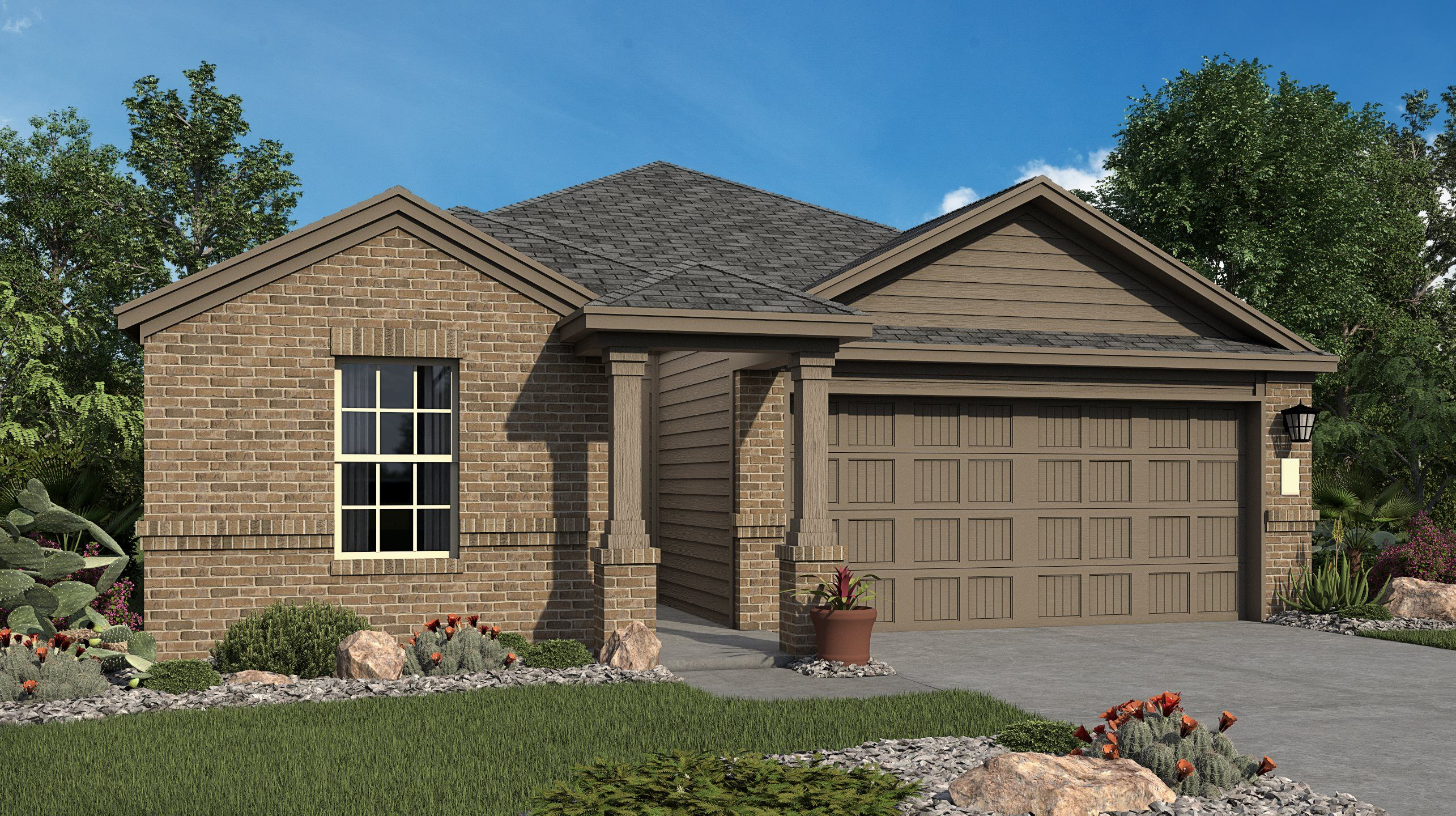 Exterior featured in the Roffee By Lennar in San Antonio, TX