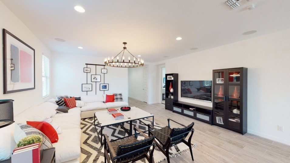 Living Area featured in the Joshua Plan 4082 By Lennar in Phoenix-Mesa, AZ