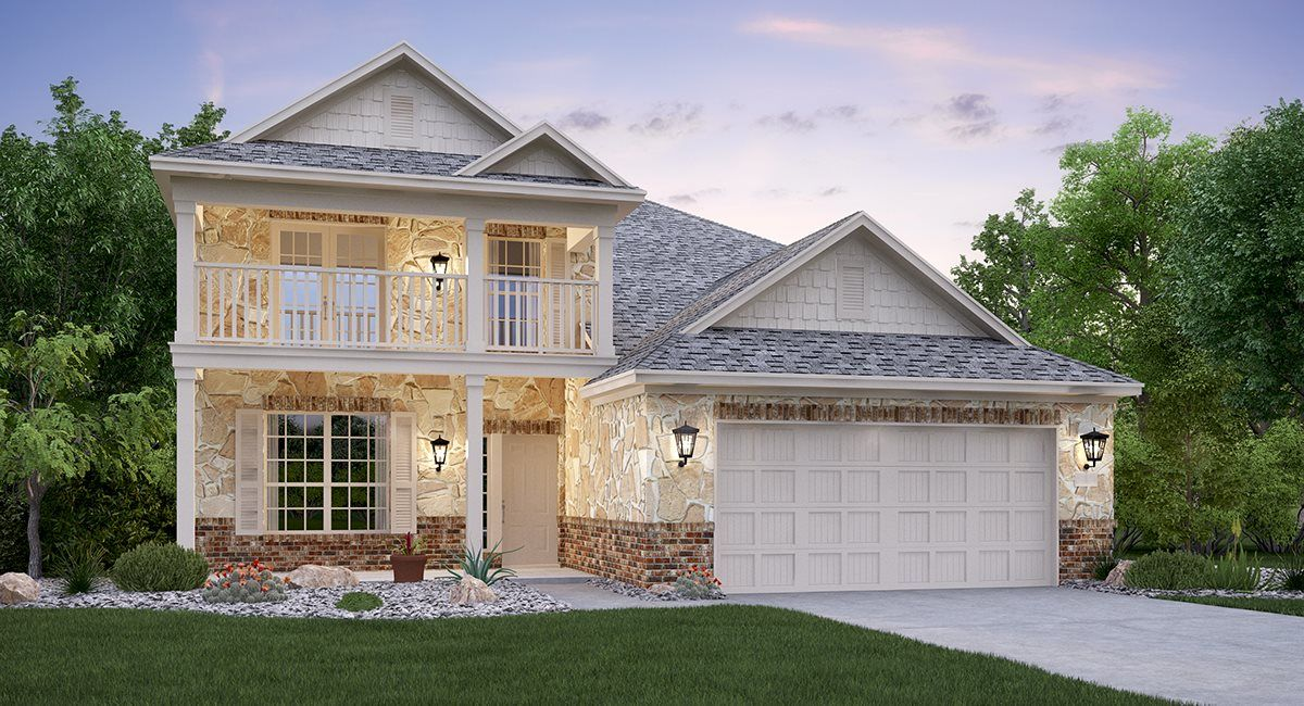 Exterior featured in the Terrazzo By Lennar in San Antonio, TX