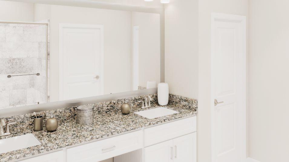 Bathroom featured in the Meridian By Lennar in Tampa-St. Petersburg, FL