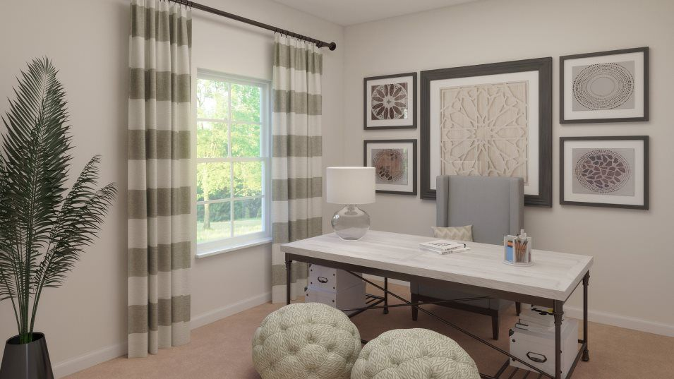 Living Area featured in the Argent By Lennar in Tampa-St. Petersburg, FL