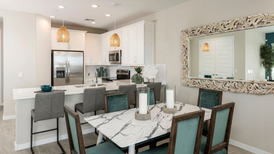 Kitchen featured in the Tanger Plan 103 By Lennar in Phoenix-Mesa, AZ