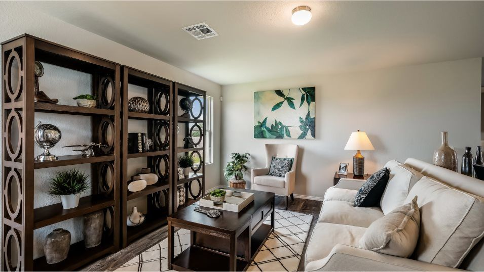 Living Area featured in the Cambria By Lennar in San Antonio, TX