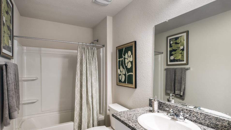 Bathroom featured in the Rosedale By Lennar in San Antonio, TX