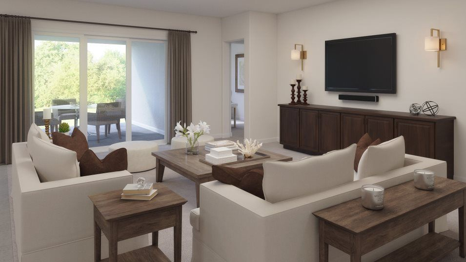 Living Area featured in the Halos By Lennar in Tampa-St. Petersburg, FL