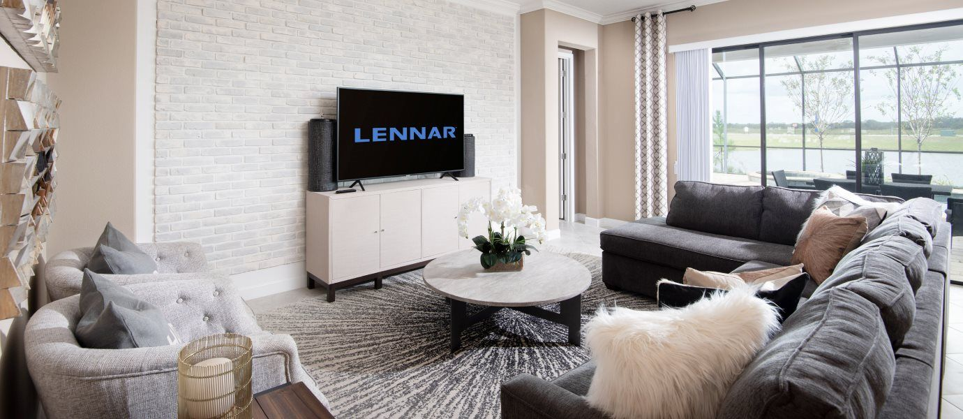 Living Area featured in the Daybreak By Lennar in Tampa-St. Petersburg, FL