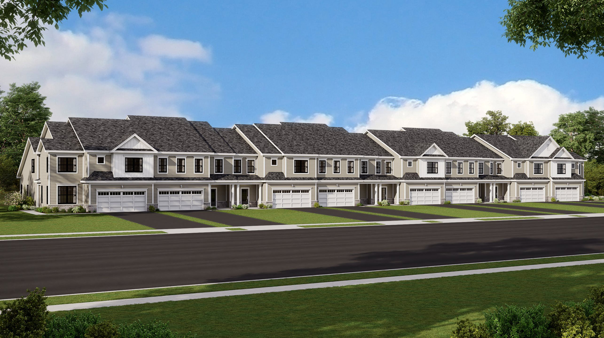 Exterior featured in the Willow By Lennar in Morris County, NJ