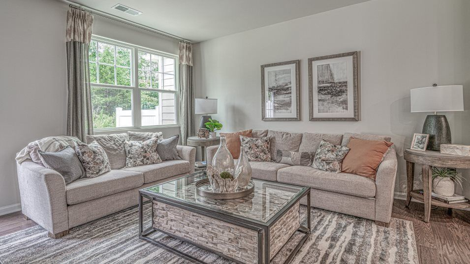 Living Area featured in the Carlton By Lennar in Charlotte, SC