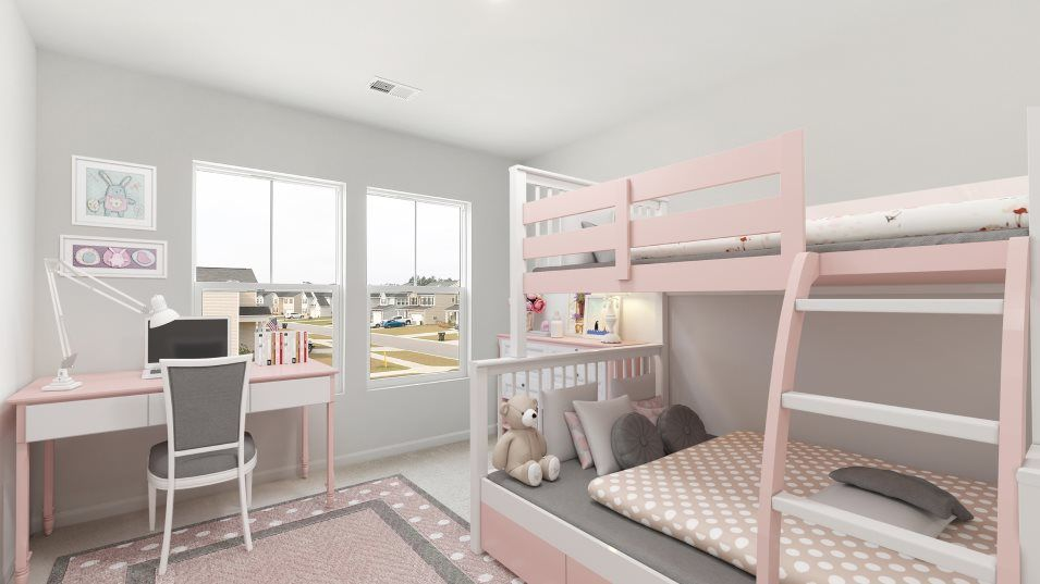 Bedroom featured in the RICHMOND By Lennar in Myrtle Beach, SC