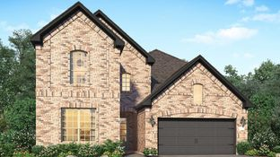 Princeton - Towne Lake - Cambridge, Icon & Provence Collections: Cypress, Texas - Village Builders