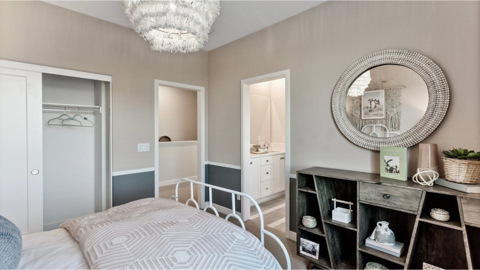 Bedroom featured in the Sol 3 By Lennar in Orange County, CA