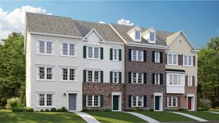 Arcadia Rear Load Garage - Delacour at Blue Stream - Townhome Collection: Elkridge, Maryland - Lennar