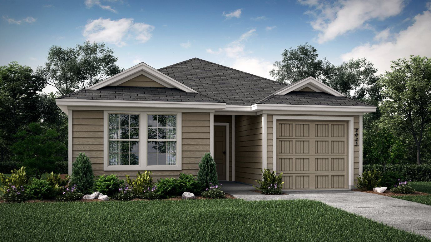 Exterior featured in the Meadow By Lennar in Dallas, TX