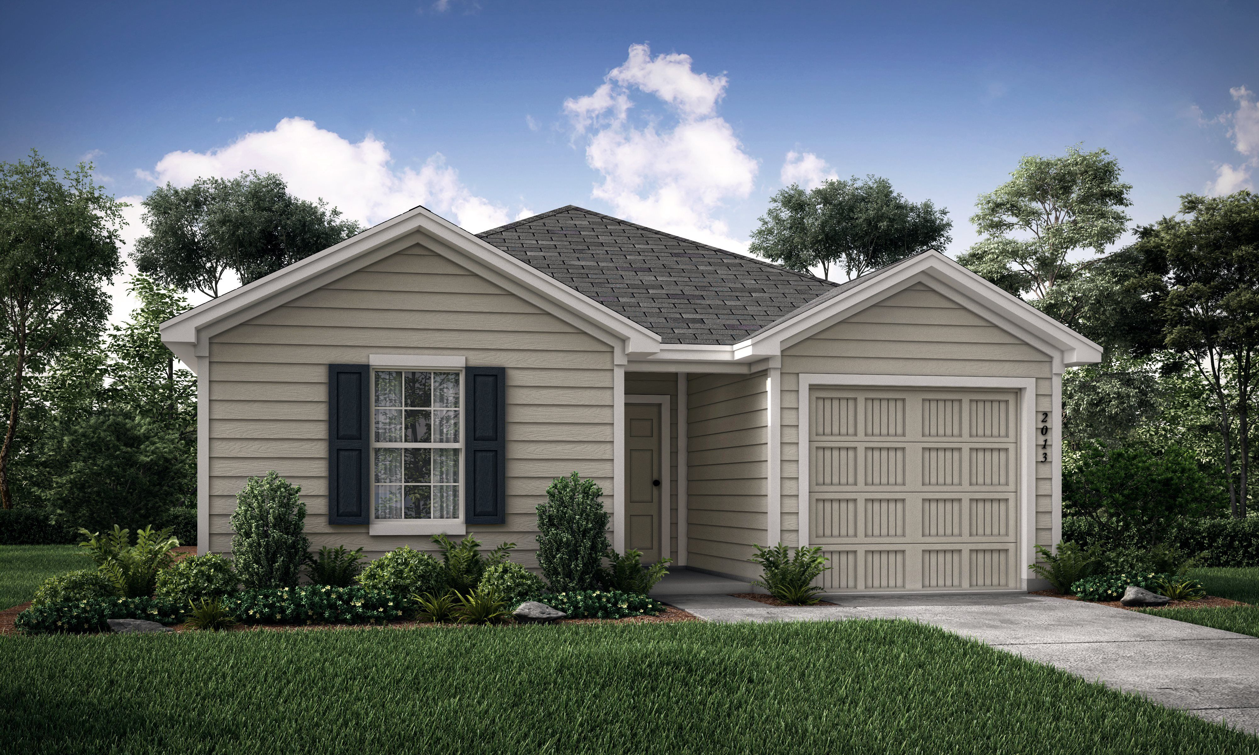 Exterior featured in the Ivy By Lennar in Dallas, TX