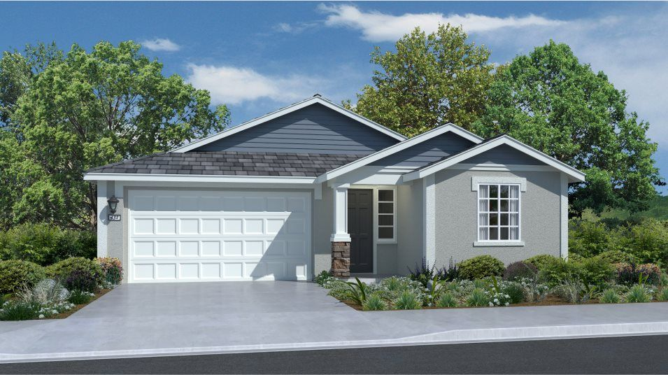 Exterior featured in the Residence 1662 By Lennar in Stockton-Lodi, CA