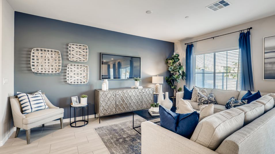 Living Area featured in the Kensington By Lennar in Las Vegas, NV