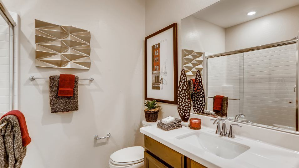 Bathroom featured in the Saratoga By Lennar in Las Vegas, NV