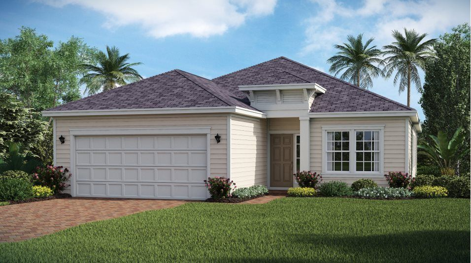 Exterior featured in the HALLE By Lennar in Jacksonville-St. Augustine, FL