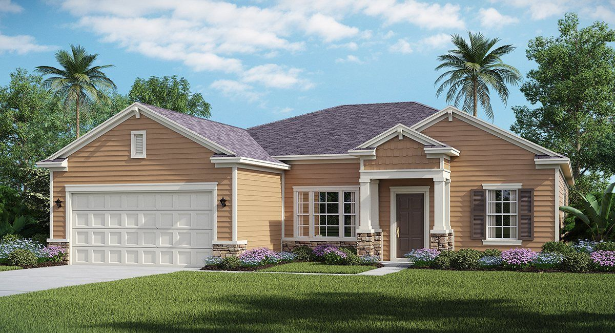 Exterior featured in the SERENATA By Lennar in Jacksonville-St. Augustine, FL
