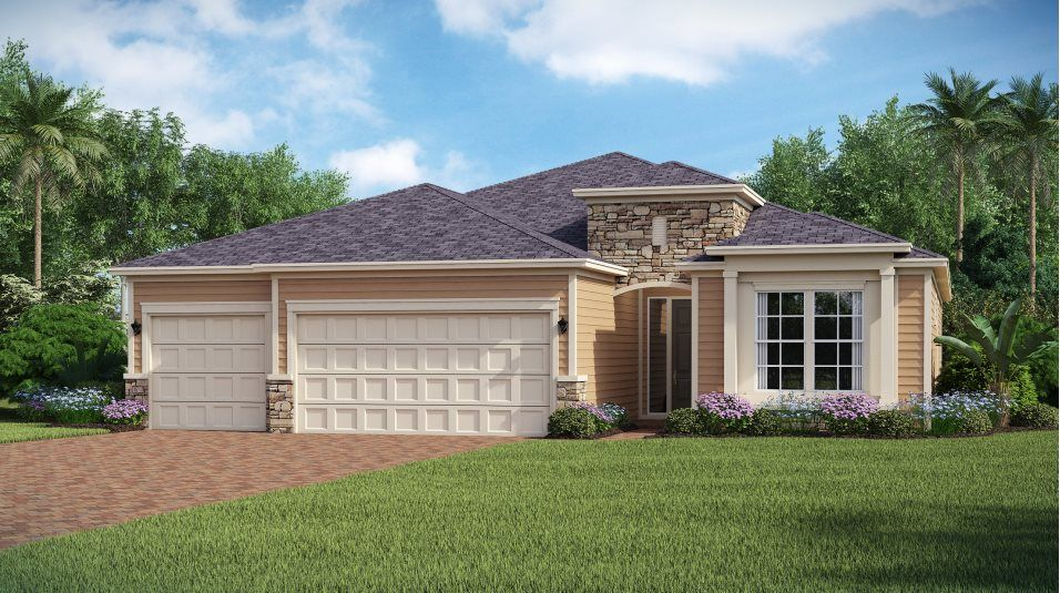 Exterior featured in the PRINCETON By Lennar in Jacksonville-St. Augustine, FL