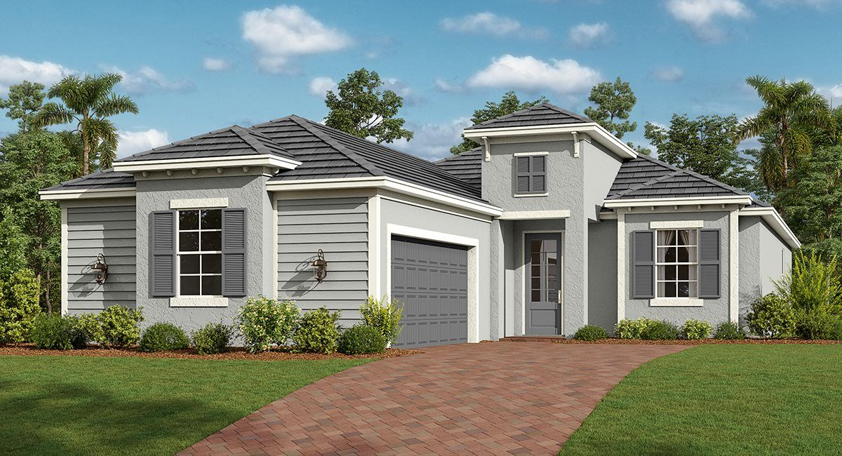 Exterior featured in the Remington By Lennar in Punta Gorda, FL