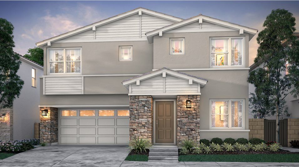 Exterior featured in the Amara 3 By Lennar in Orange County, CA