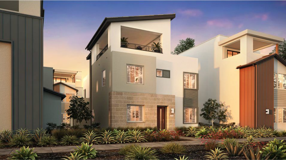 Exterior featured in the Rosemist 3 By Lennar in Los Angeles, CA