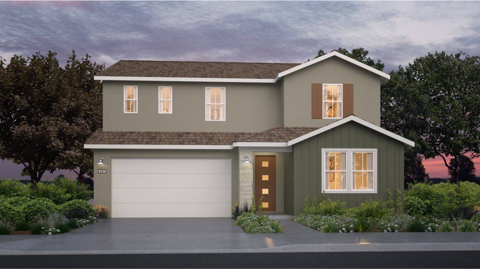 Exterior featured in the Residence 2968 By Lennar in Sacramento, CA