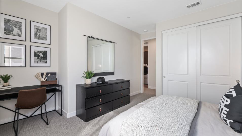 Bedroom featured in the Marigold 2 By Lennar in Los Angeles, CA