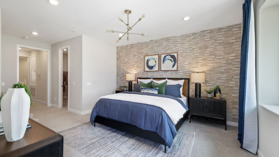 Bedroom featured in the Jasmine 3 By Lennar in Los Angeles, CA