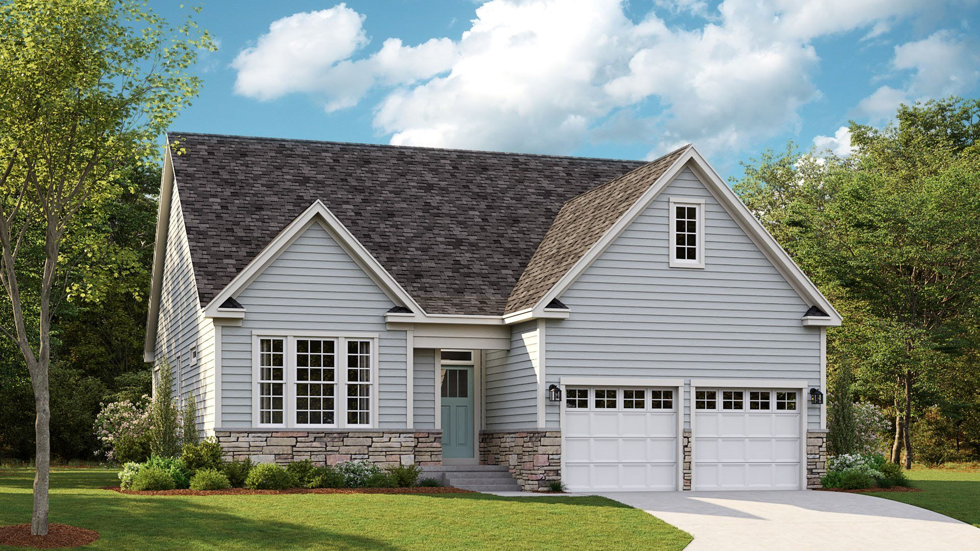 Exterior featured in the Savannah By Lennar in Sussex, DE