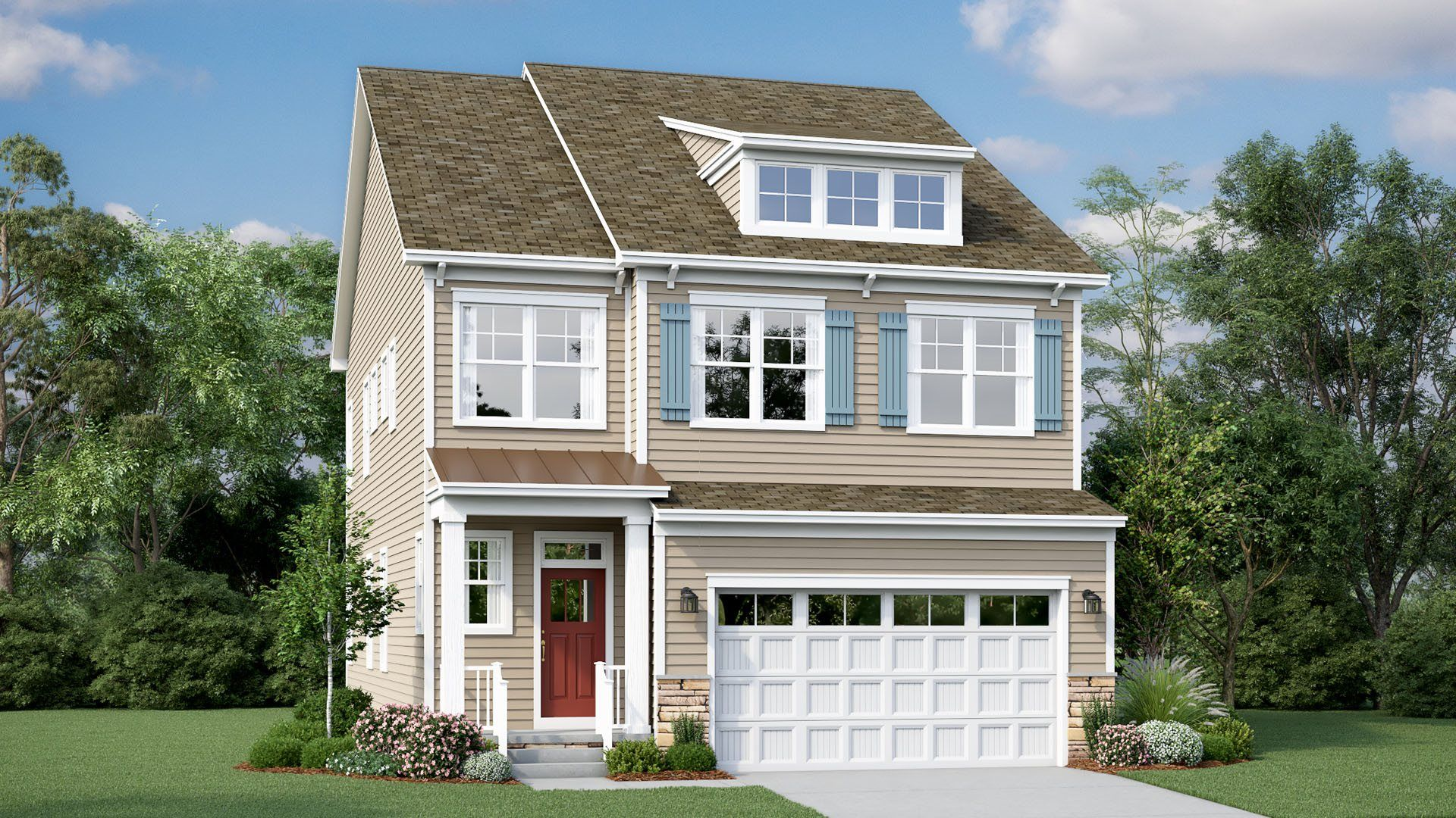 Exterior featured in the Monterey By Lennar in Sussex, DE