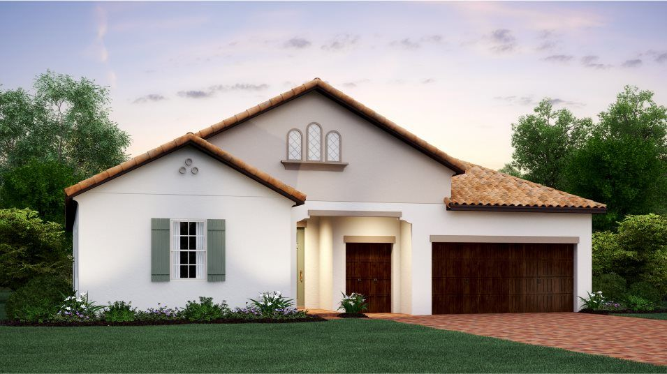 Exterior featured in the Halos By Lennar in Tampa-St. Petersburg, FL