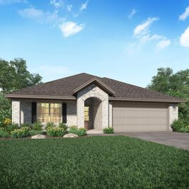 Clover II - Ashbel Cove at Baytown Crossings - Wildflower Collection: Baytown, Texas - Lennar